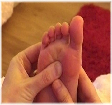 Reflexology foot treatment